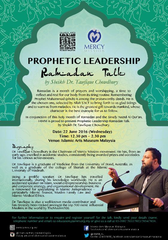 Prophetic Talk poster