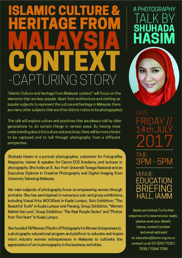 ISLAMIC CULTURE & HERITAGE FROM MALAYSIA CONTEXT-01